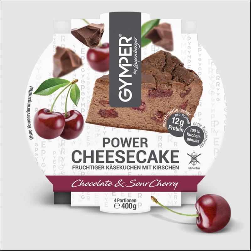 GYMPER Cheesecake Schoko-Sauerkirsch