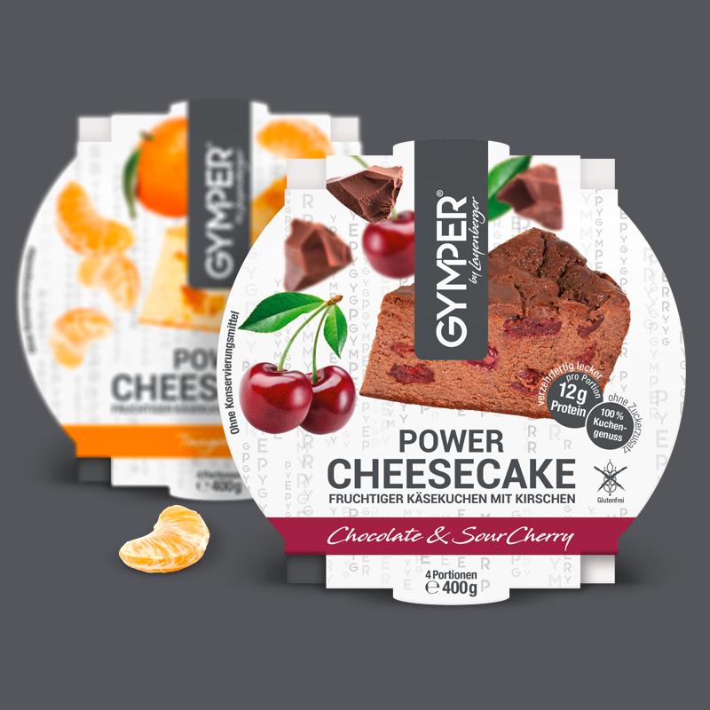 Die GYMPER Power Cheesecakes - ein echter Genuss