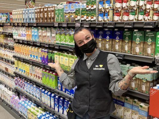 Milch-Alternativen so weit das Auge reicht!