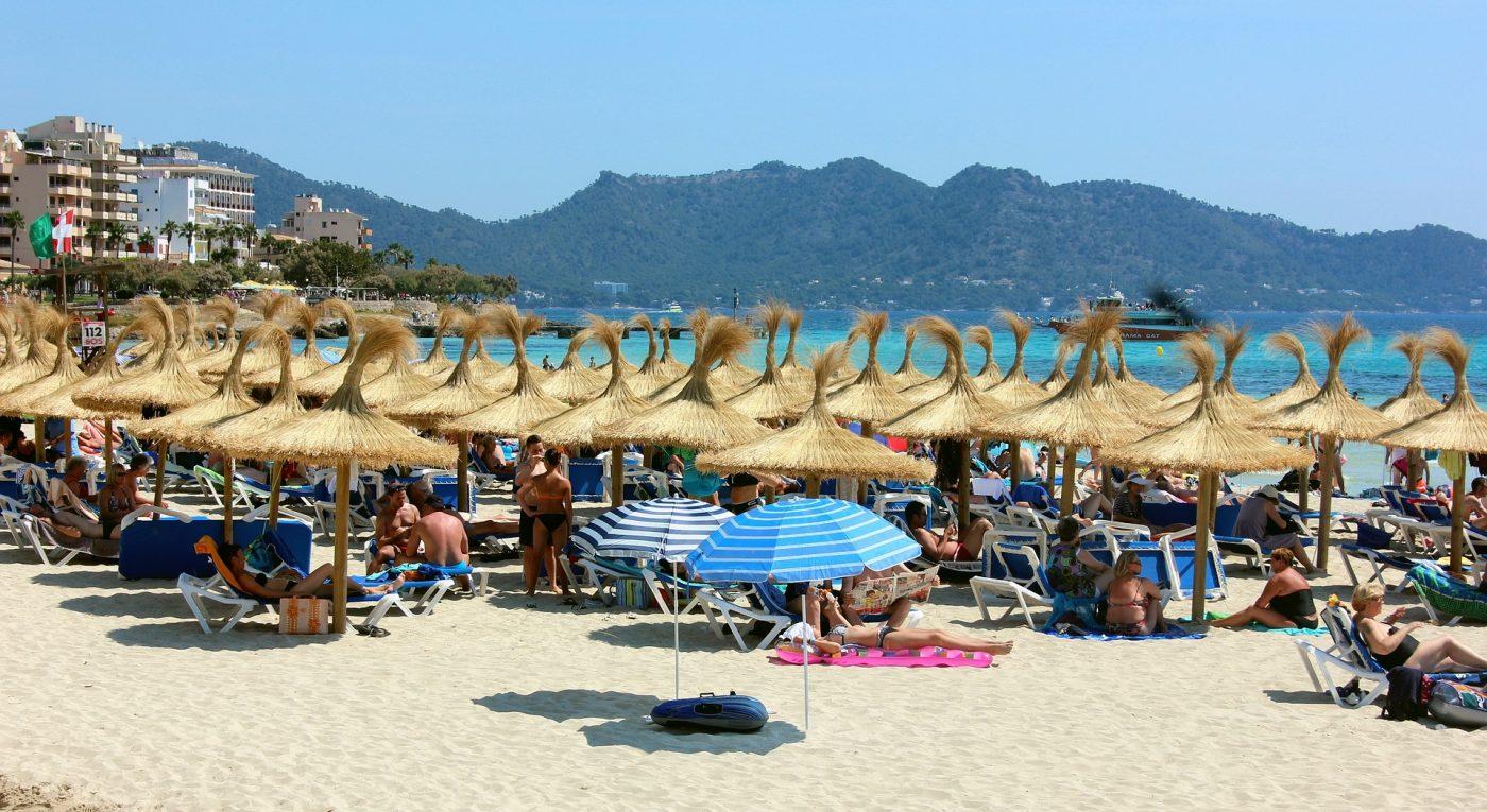 Der Strand von Cala Millor