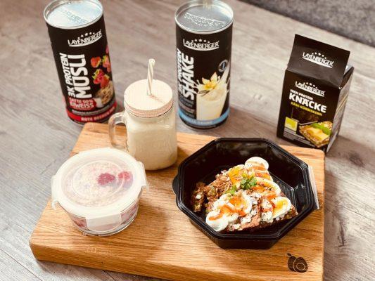 Meal Prepping - Das dreigängige Layenberger Tagesmenü der Ernährungsberatung Kohlemann!