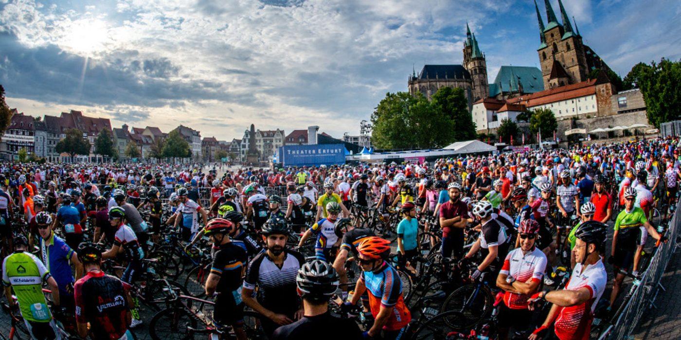 Das Fahrerfeld der Jedermann Tour 2019