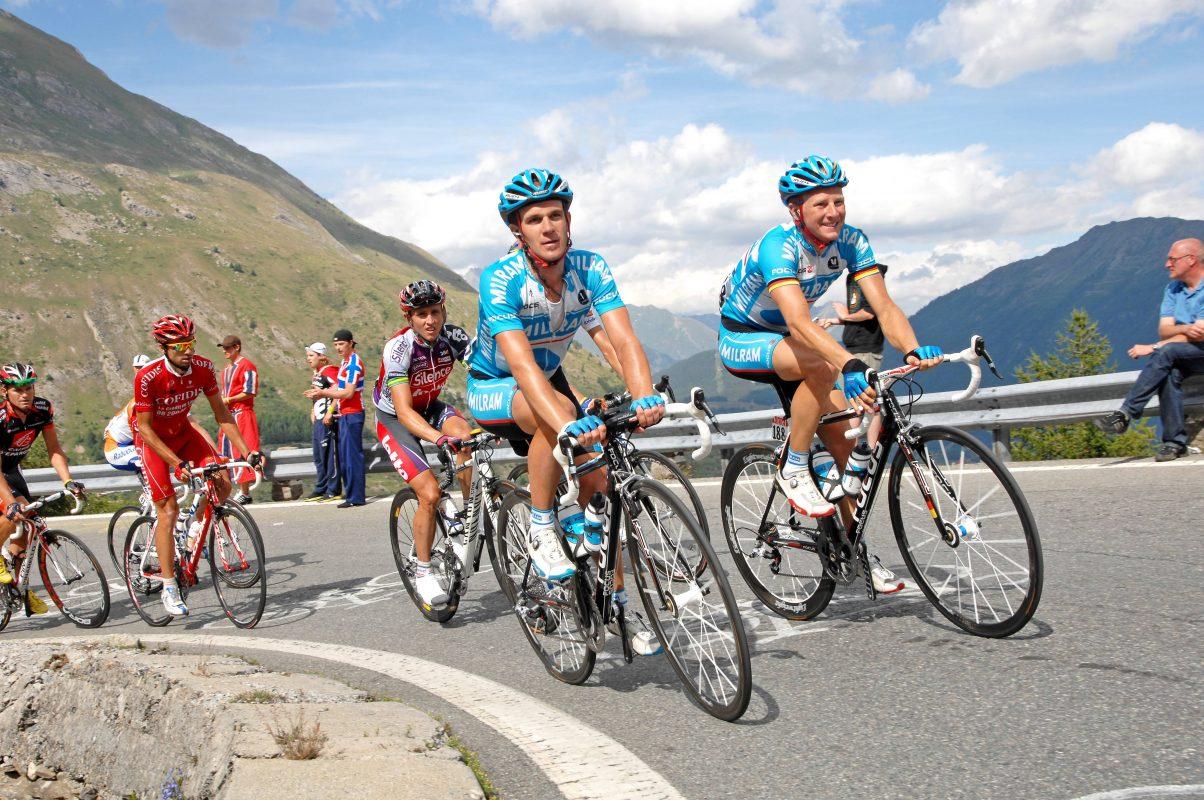 Johannes Fröhlinger in Aktion bei der Tour de France