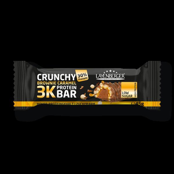 Der Layenberger 3K Crunchy Brownie Caramel Riegel